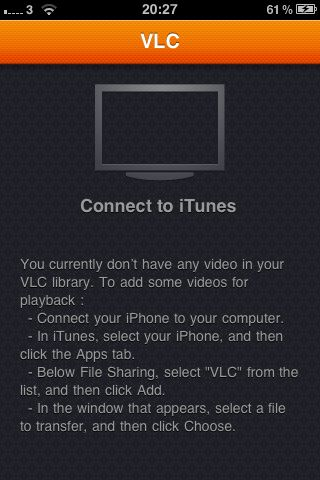 VLC iPhone app