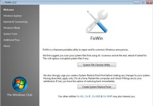 fixwin-window