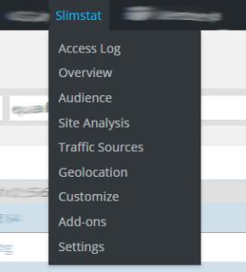 Slimstat_menu