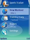 sportstracker menu